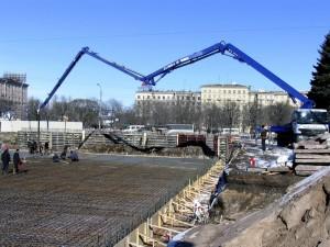 Строительство фонтанов Московская площадь