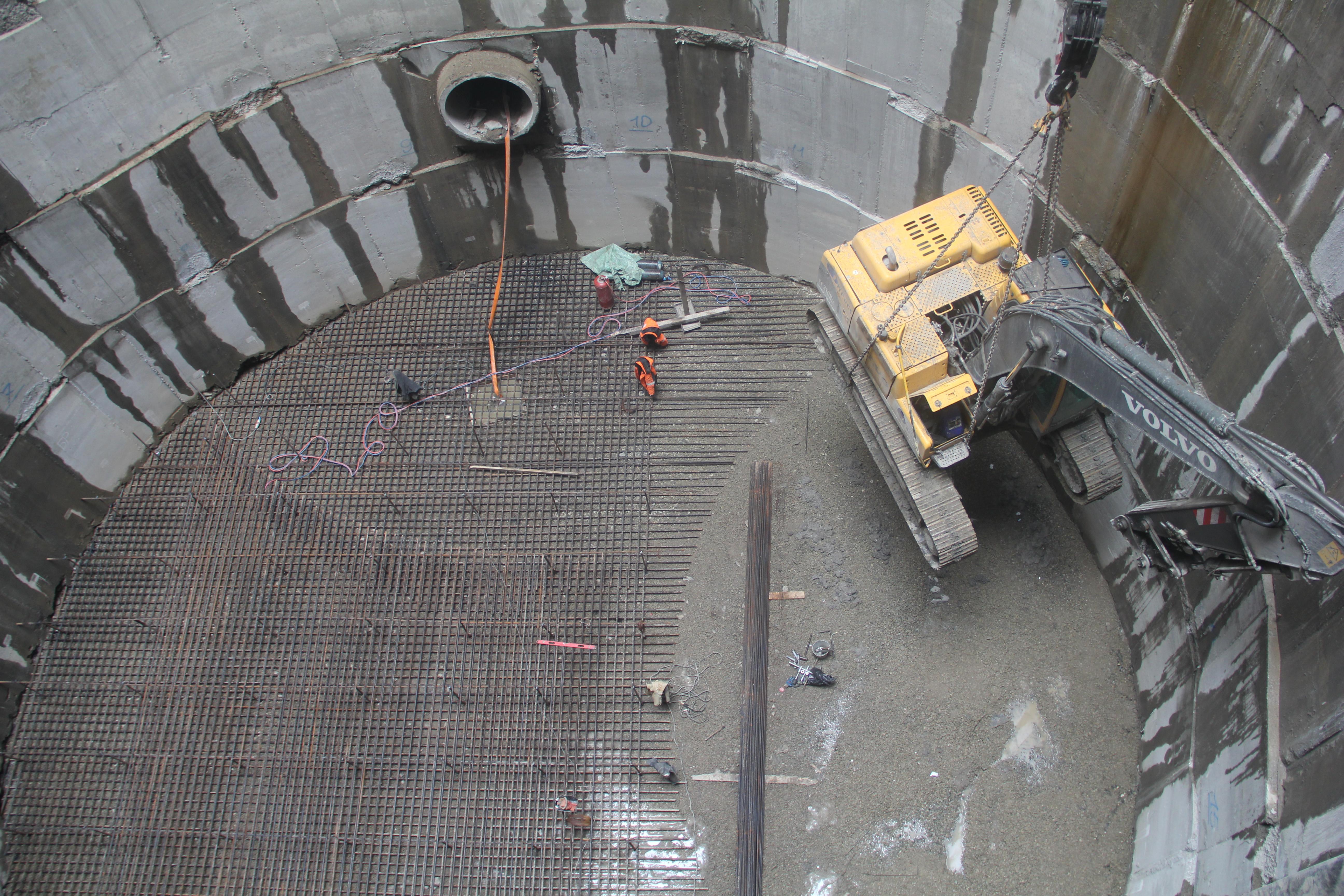 Строительство канализационной насосной станции №3б